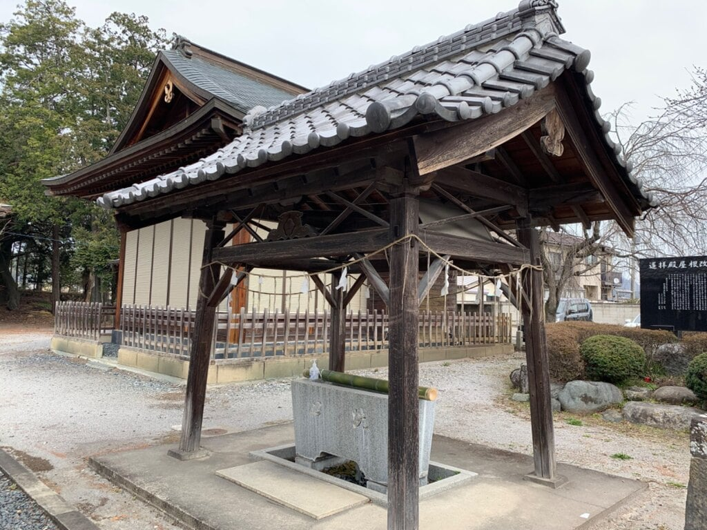 加茂別雷神社の手水