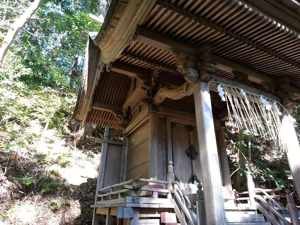 飽波神社の末社