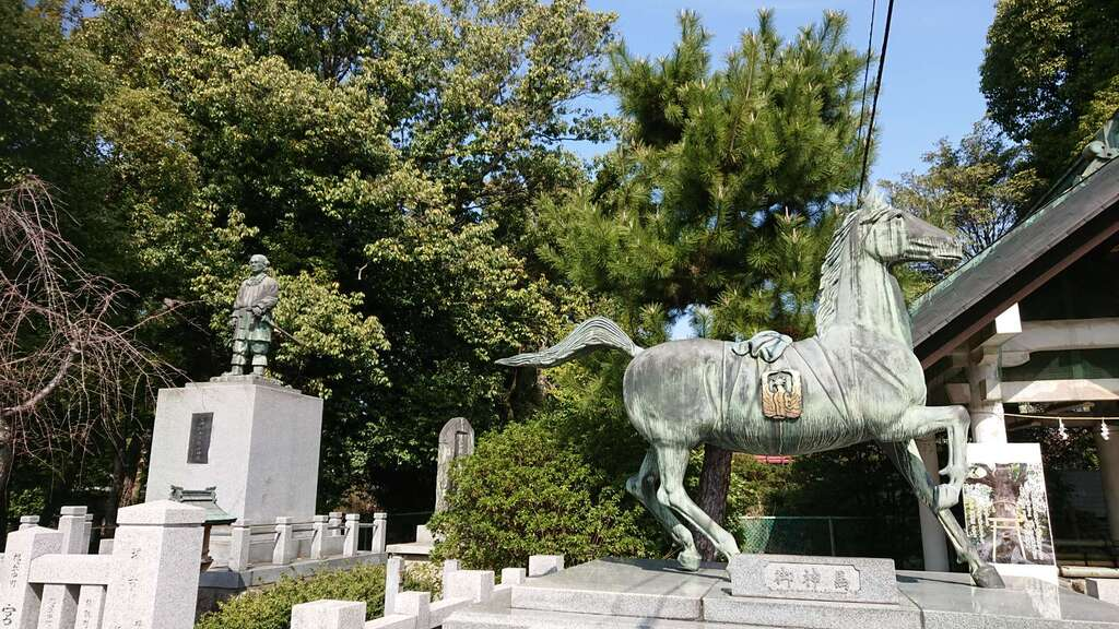 和泉國一之宮 大鳥大社の狛犬