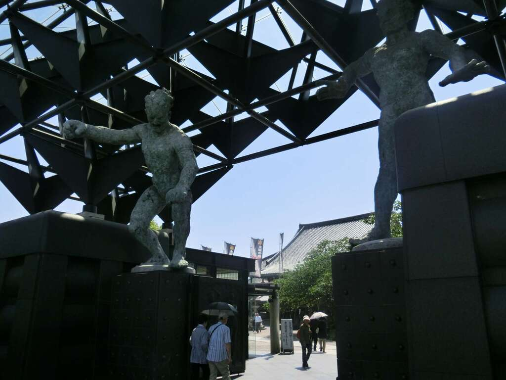 一心寺の像