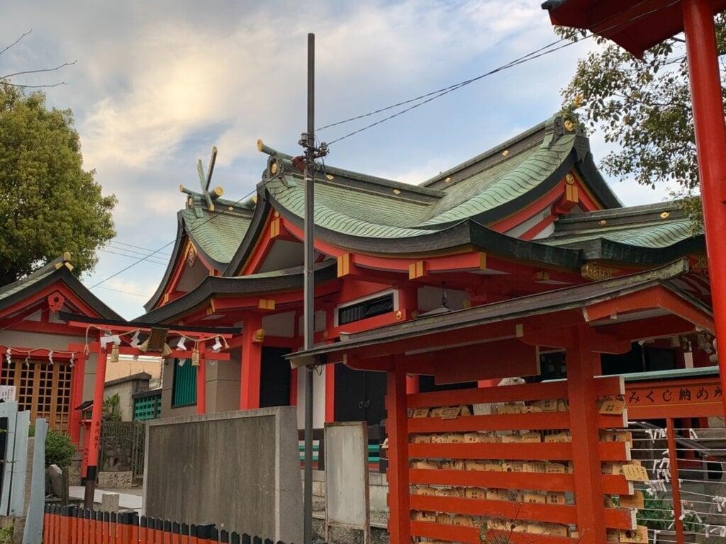 神津神社の本殿