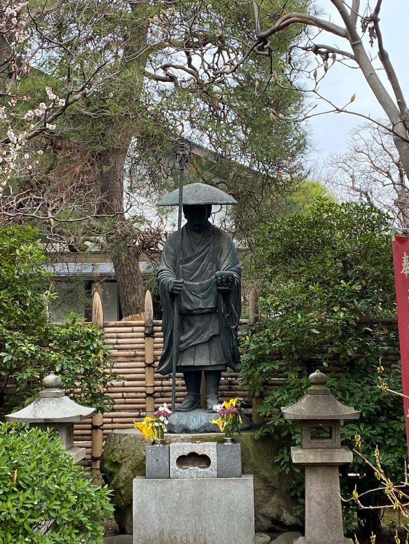 安養寺の像