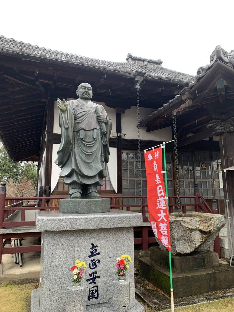 妙建寺の像