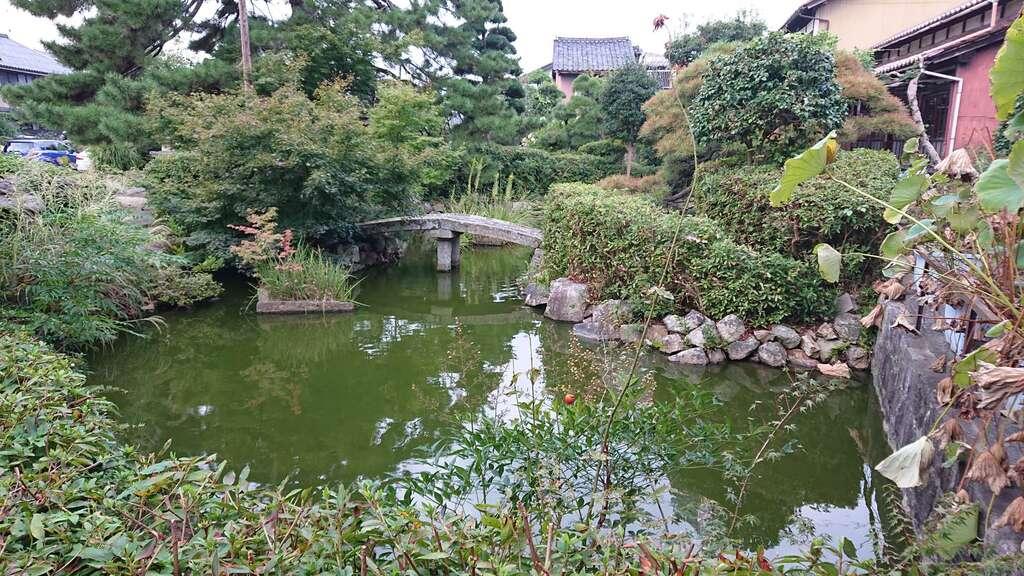 大雲院の庭園