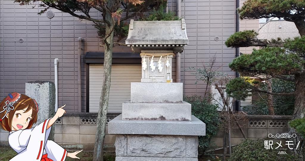牛頭天王社の本殿