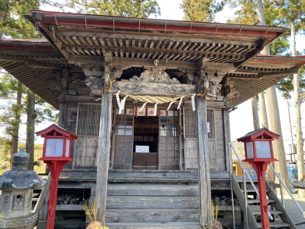 川崎稲荷神社の本殿