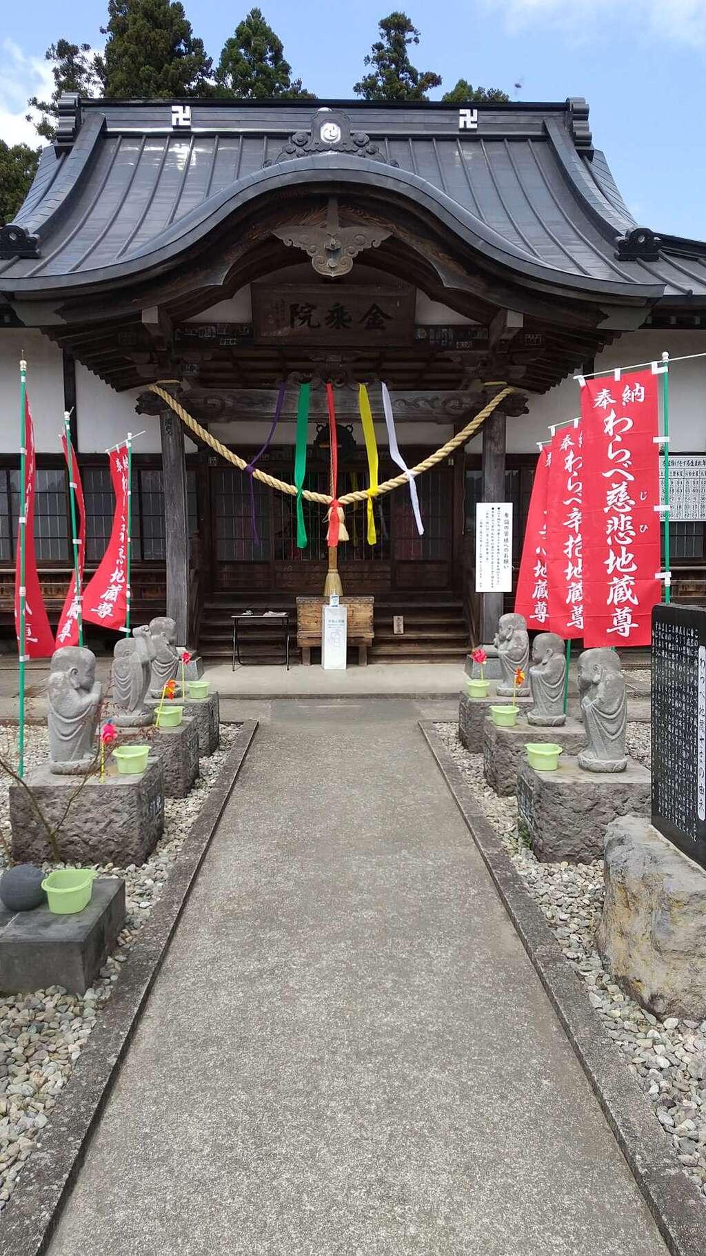 金乗院(那須波切不動尊) の本殿