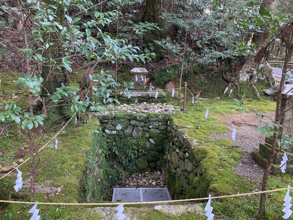 熊野本宮大社真名井社の本殿