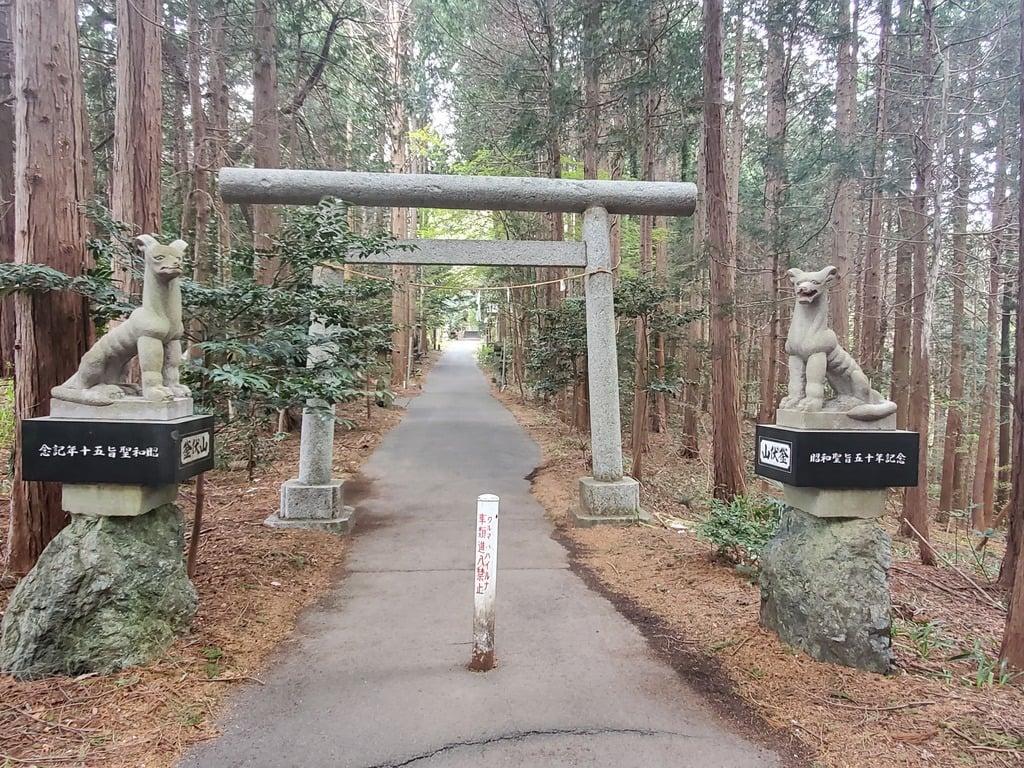 釜山神社の鳥居