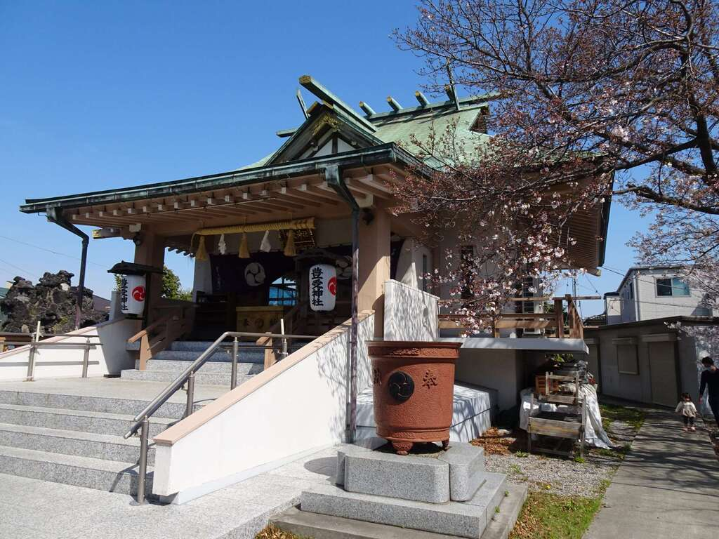 豊受神社の本殿