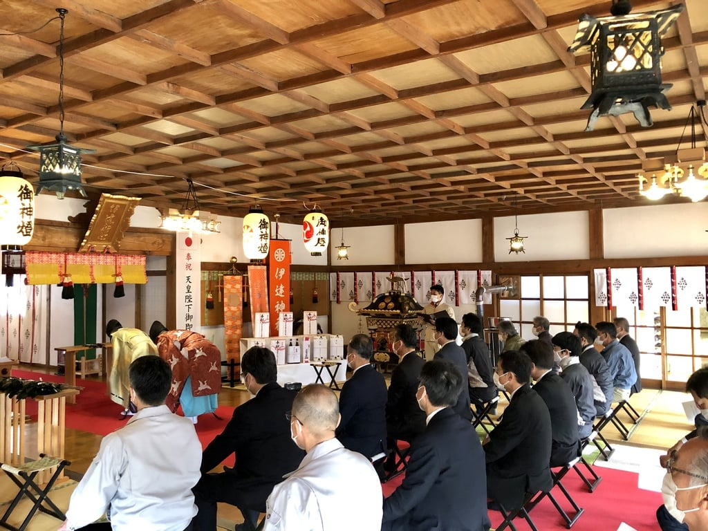 伊達神社の体験その他
