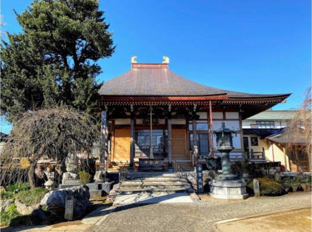芳林寺の本殿
