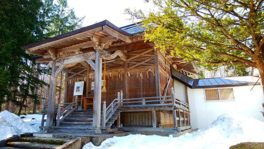 雨粉神社(北海道)