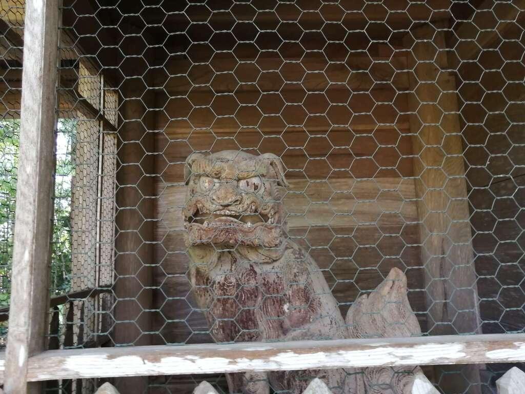 龍潭寺の狛犬