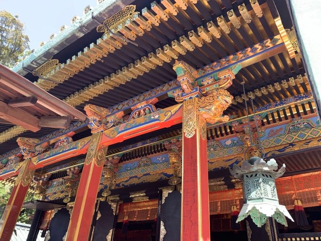久能山東照宮の芸術