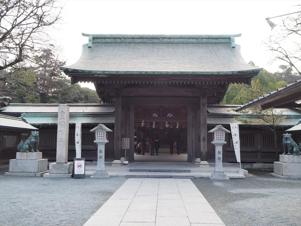 宗像大社の山門