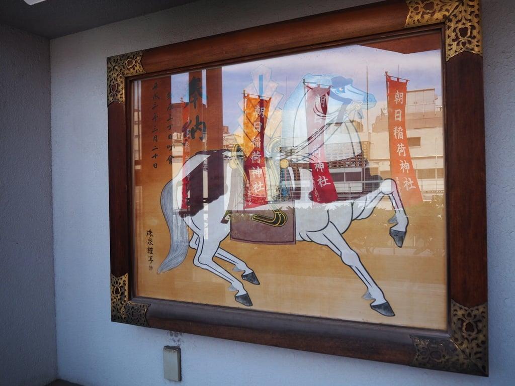 朝日稲荷神社の芸術