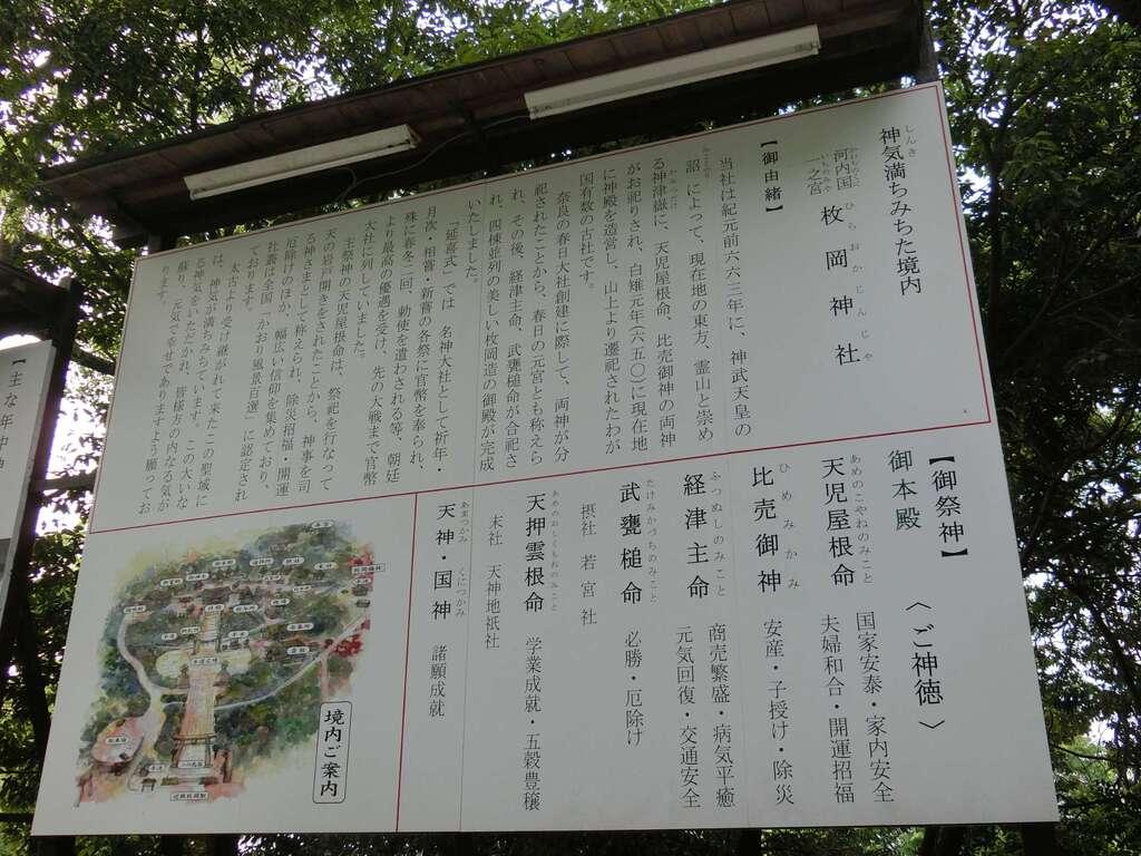 枚岡神社の周辺
