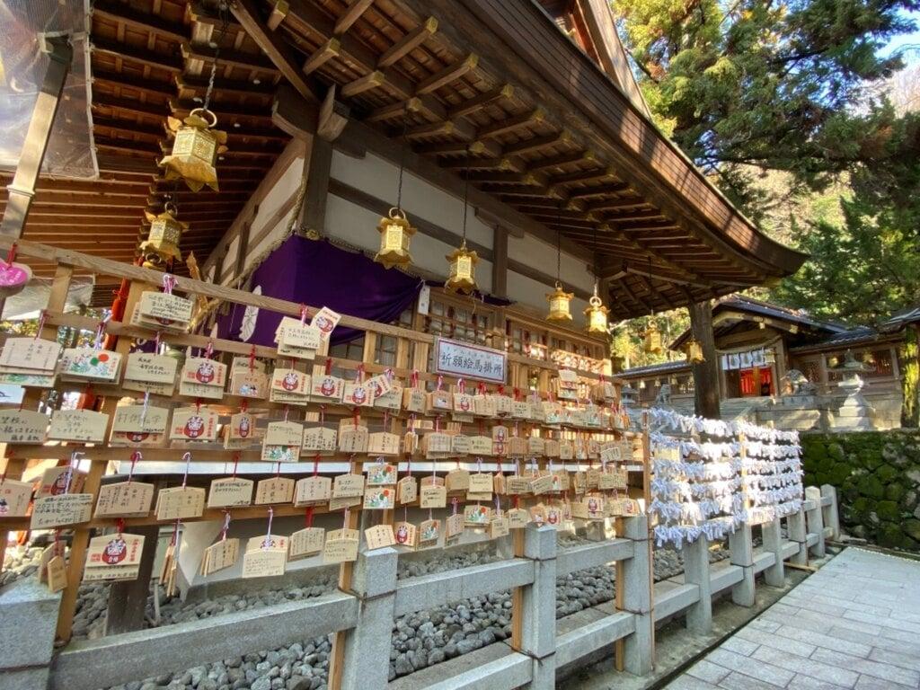 枚岡神社の絵馬