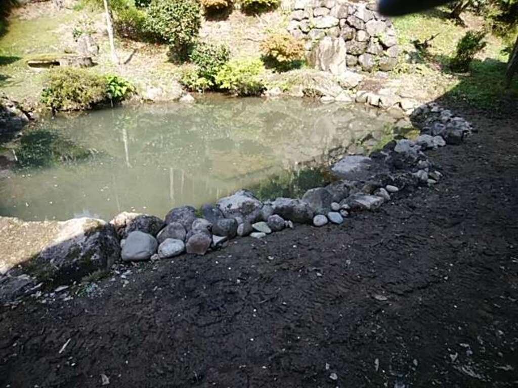 白狐山光星寺の庭園
