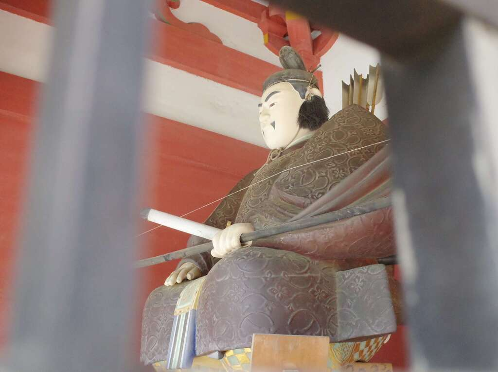 志波彦神社・鹽竈神社の像