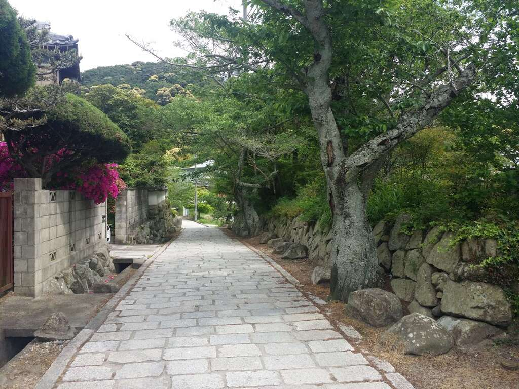 太山寺の周辺