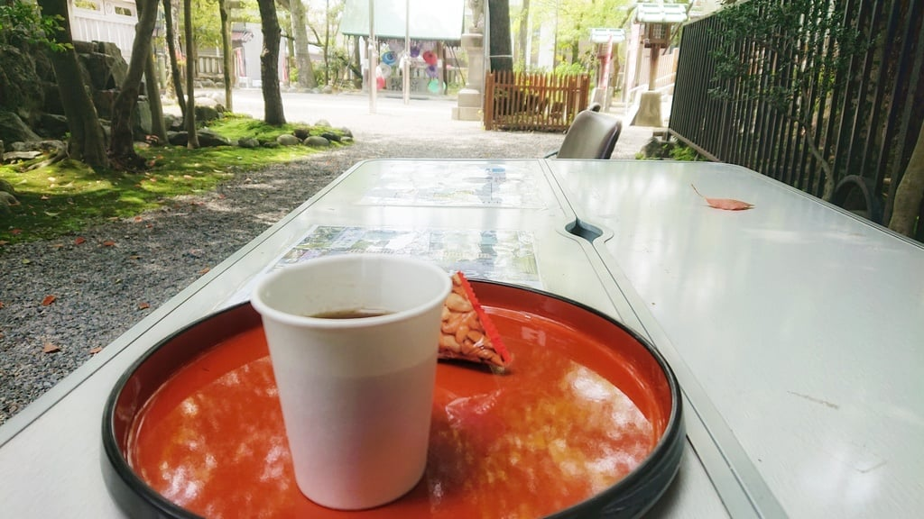 若宮神明社の食事