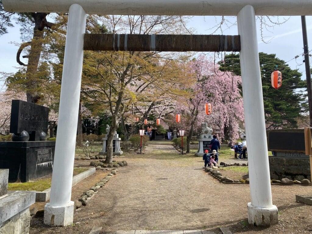 糠部神社の鳥居