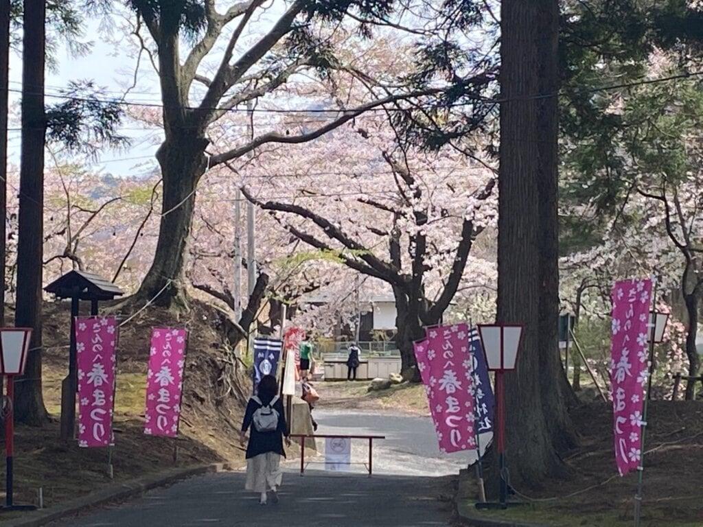糠部神社の周辺