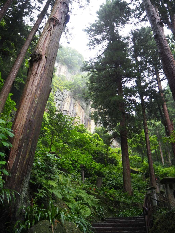 宝珠山 立石寺の自然