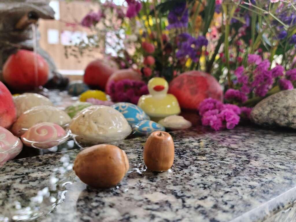 滑川神社 - 仕事と子どもの守り神の手水