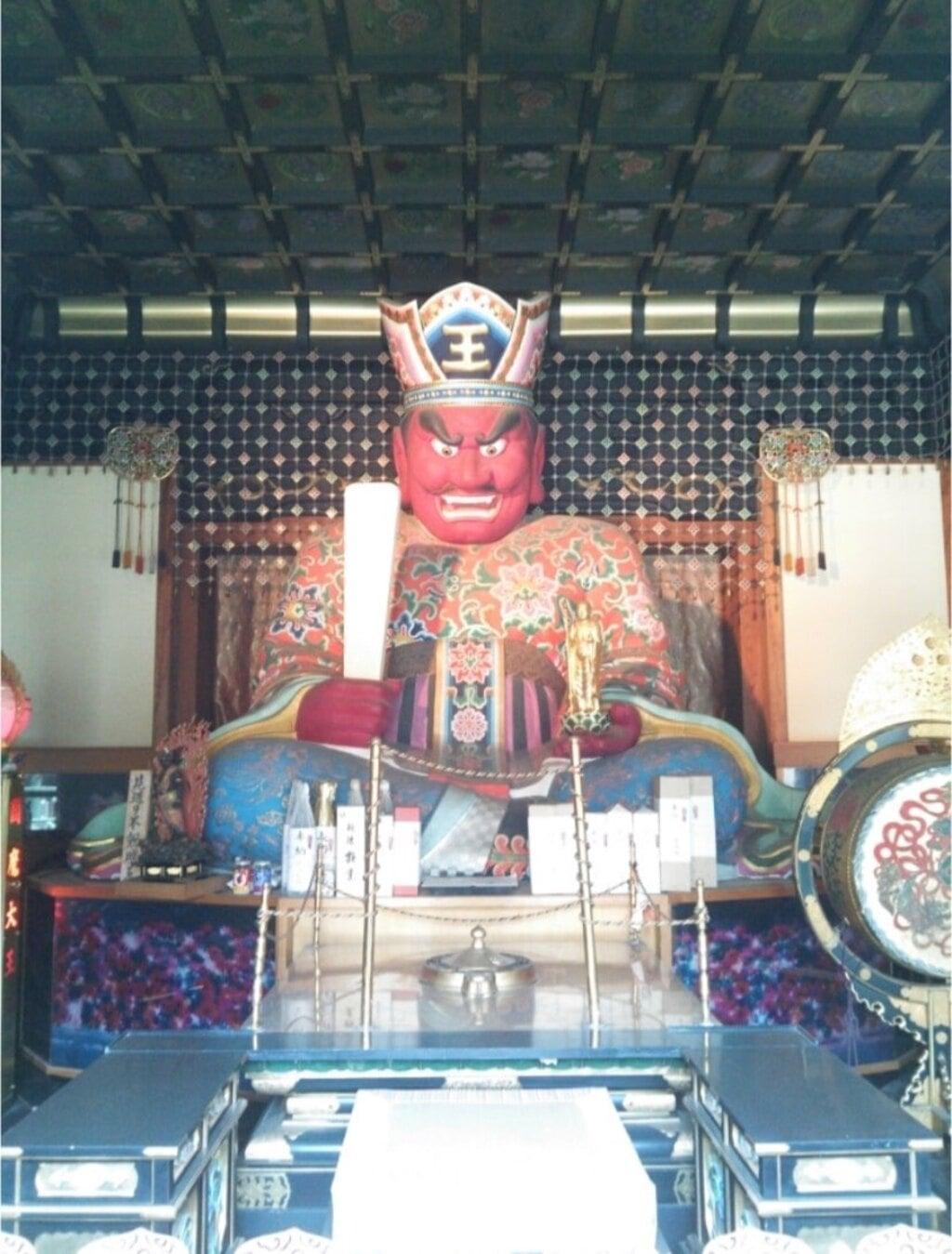 法乗院(深川閻魔堂)の像