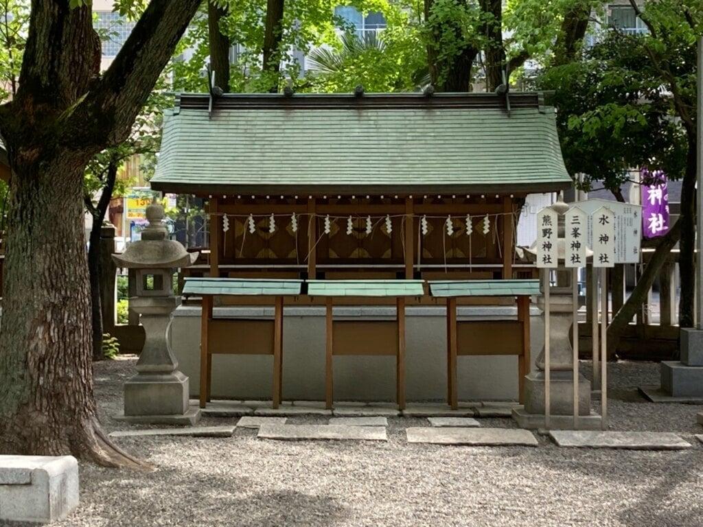 亀戸香取神社の末社