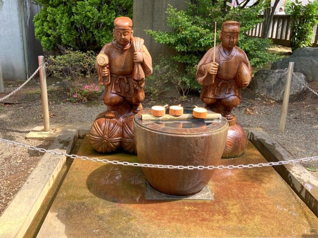 亀戸香取神社の仏像