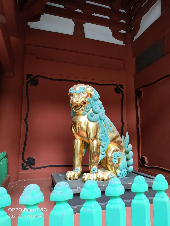 久能山東照宮の狛犬