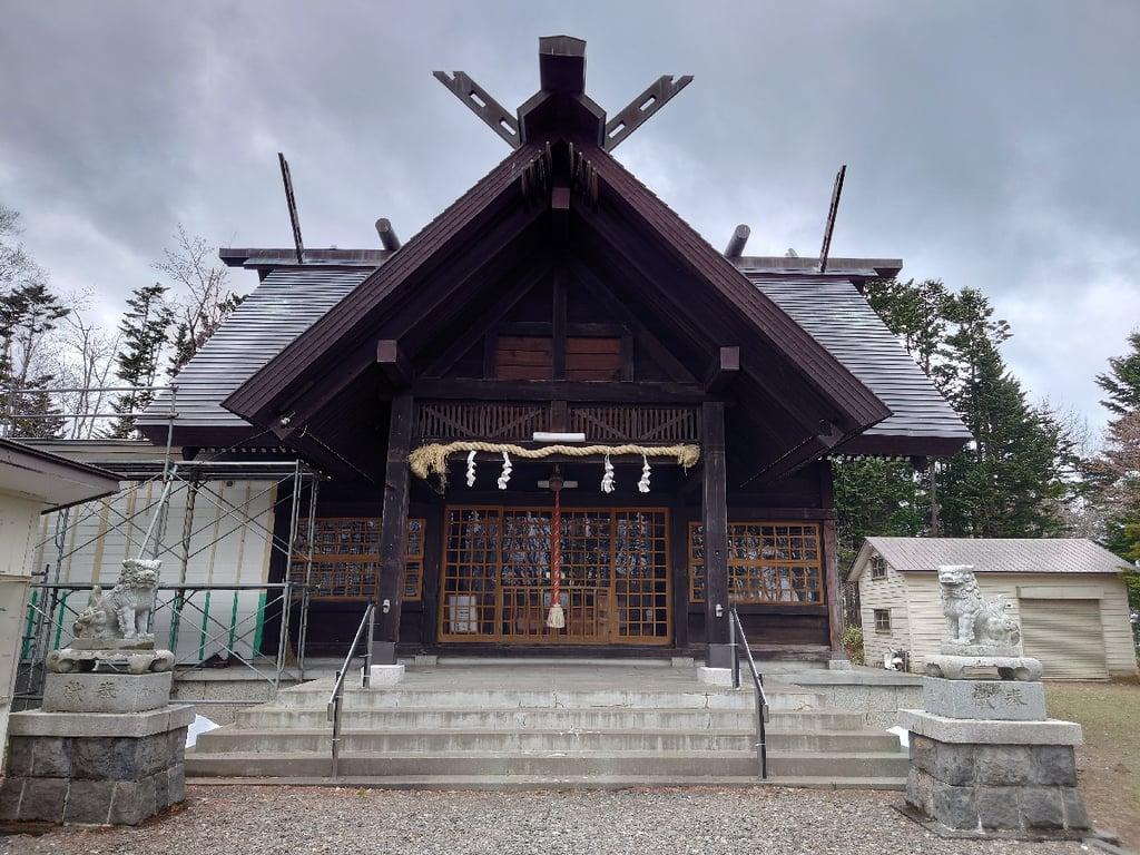 雄武神社の本殿