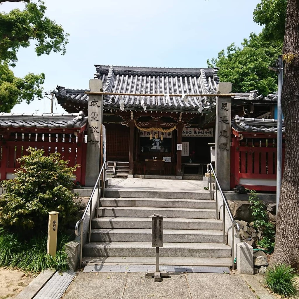 高砂神社の本殿