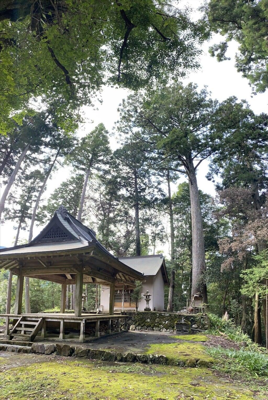 池大神社の本殿