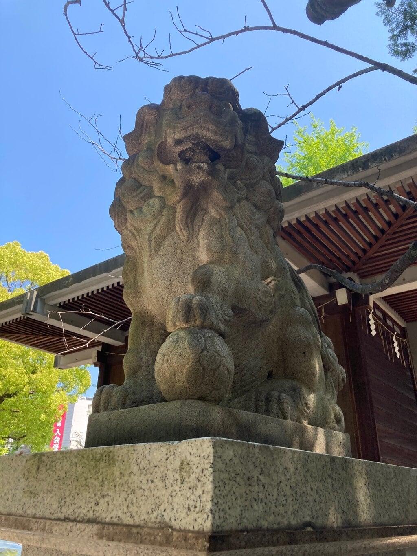 亀戸香取神社の狛犬