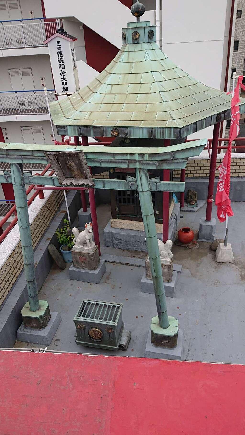 作徳稲荷神社の本殿