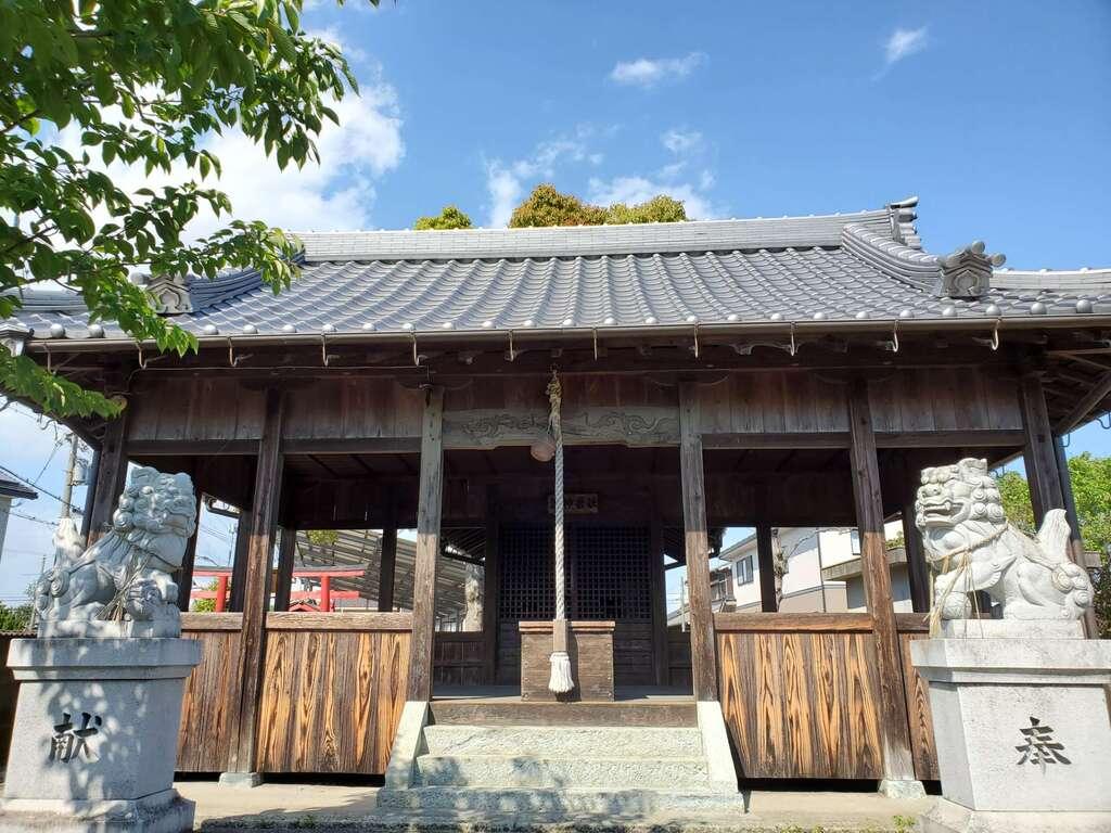 川北住吉神社の本殿