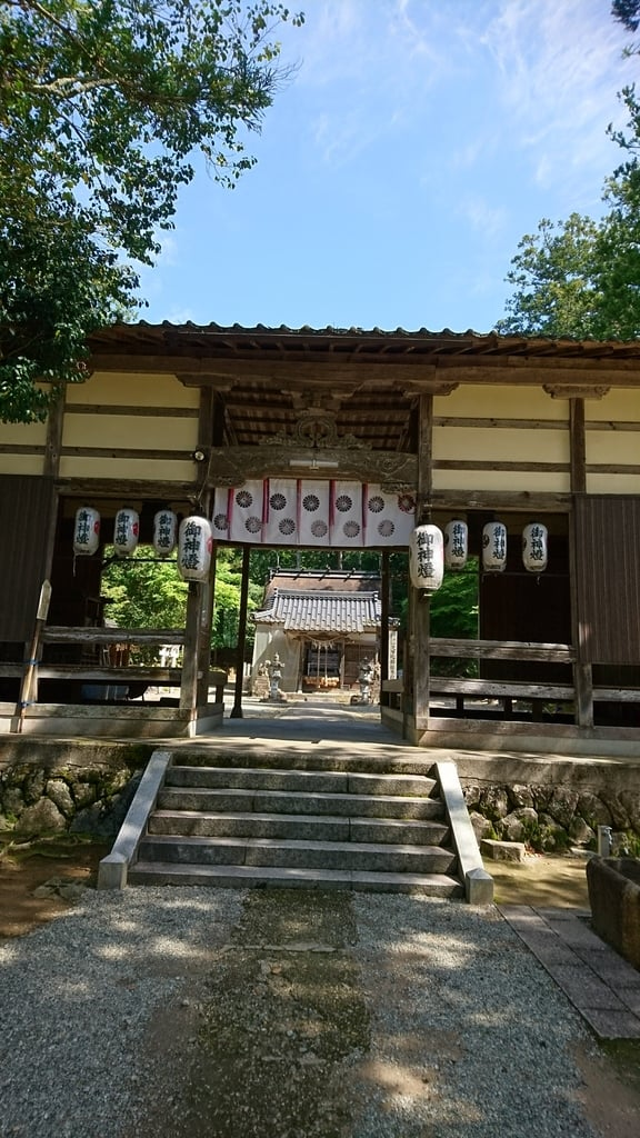 久久比神社の山門