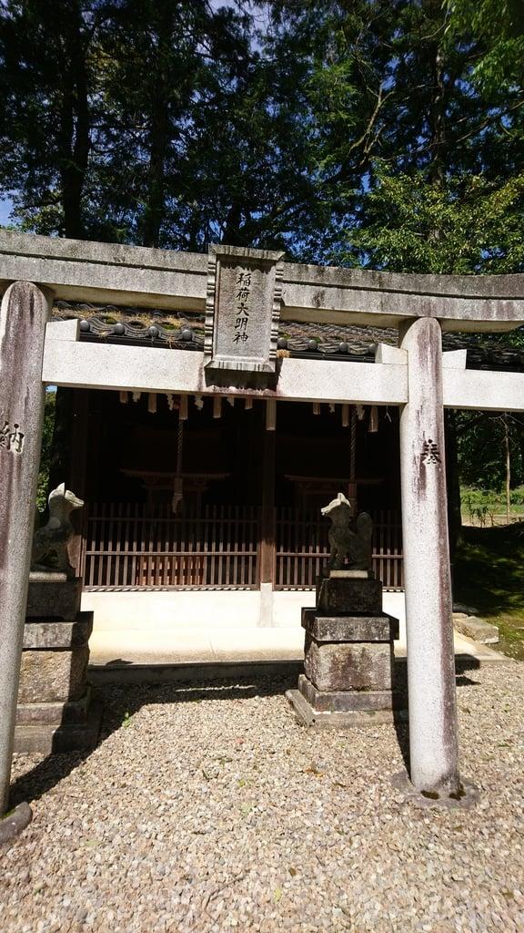 久久比神社の末社