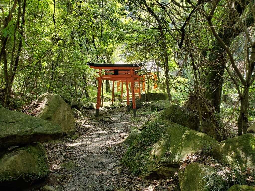 太山寺の鳥居