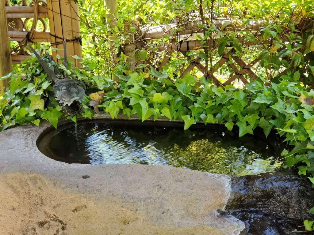 地蔵院の手水