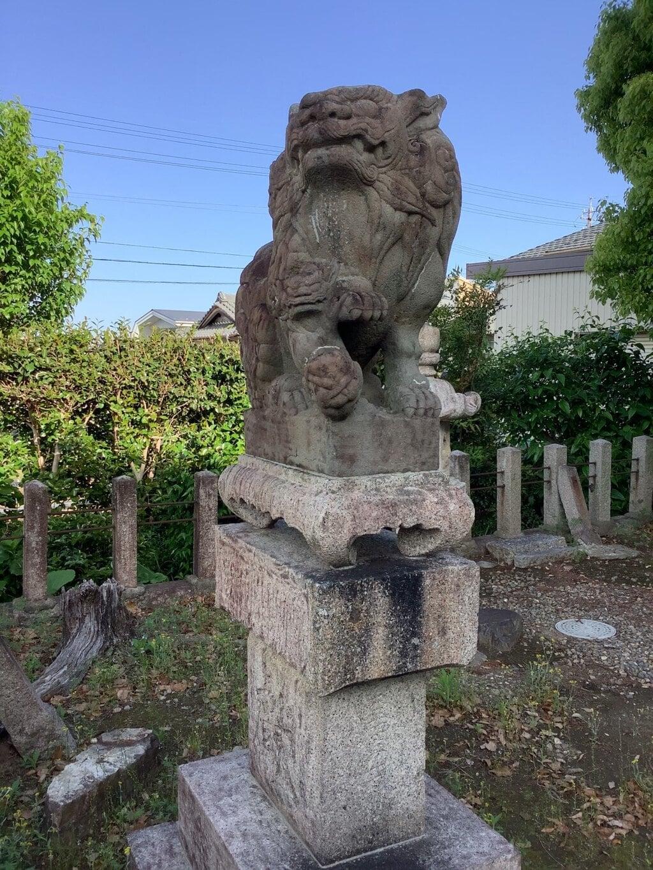 津島社の狛犬