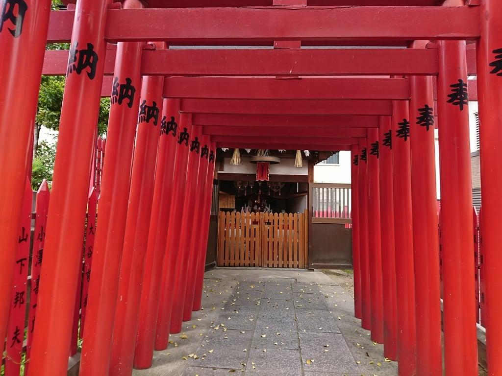 瓜破天神社の鳥居