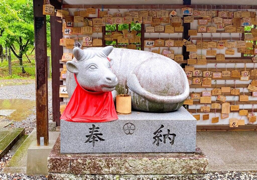 上宮天満宮の狛犬