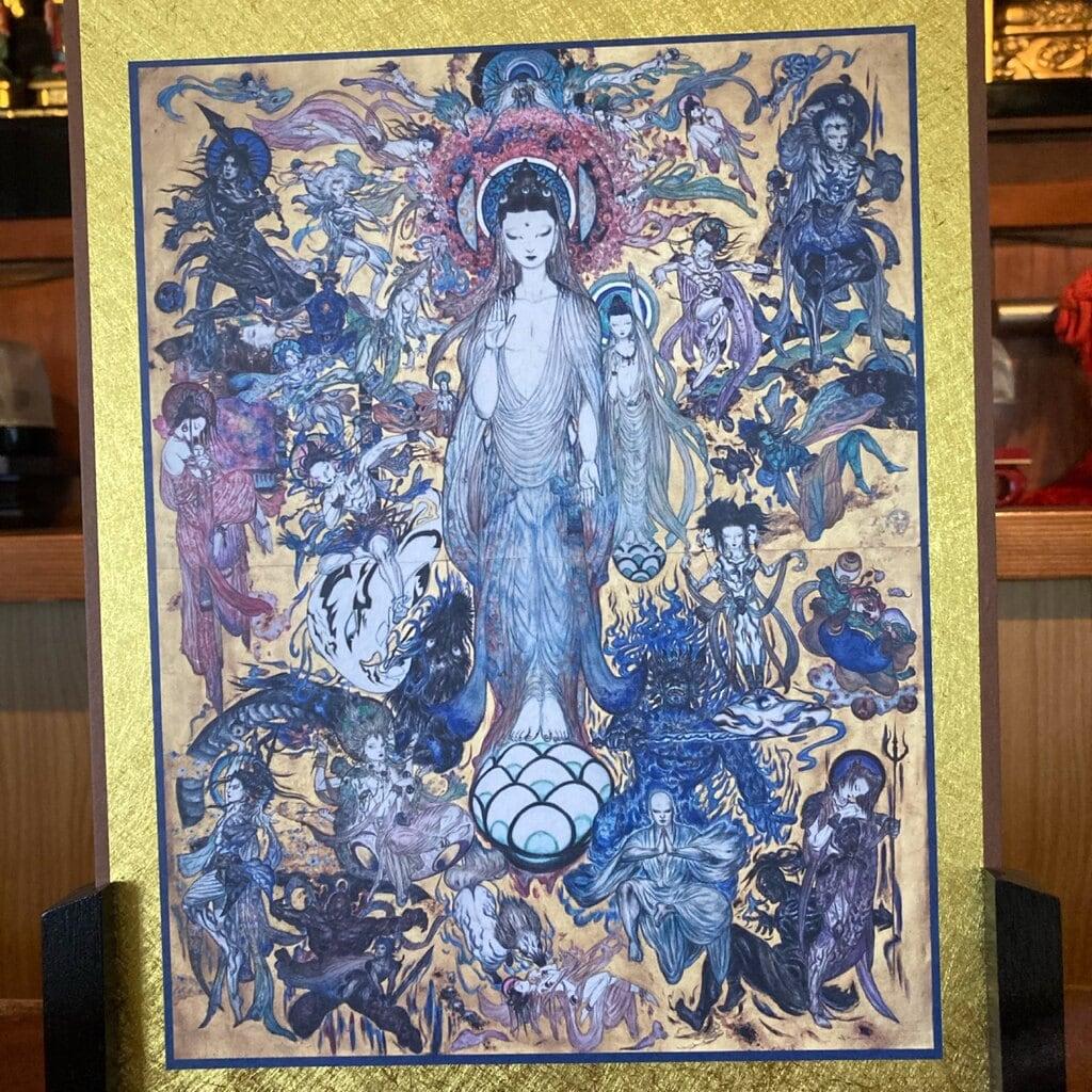 蓮久寺の芸術