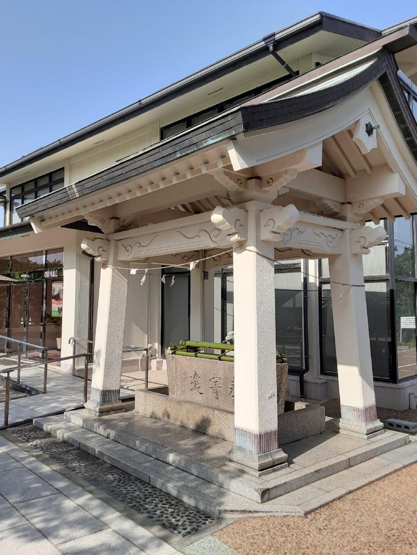 柿本神社の手水